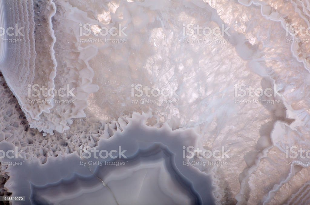 grey agate structure extrime closeup stock photo