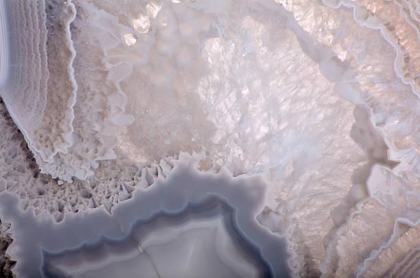 Gris Agate structure Extrime vue - Photo