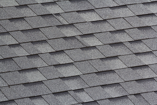 Grey And Black Roof Shingles Stock Photo Download Image Now Istock
