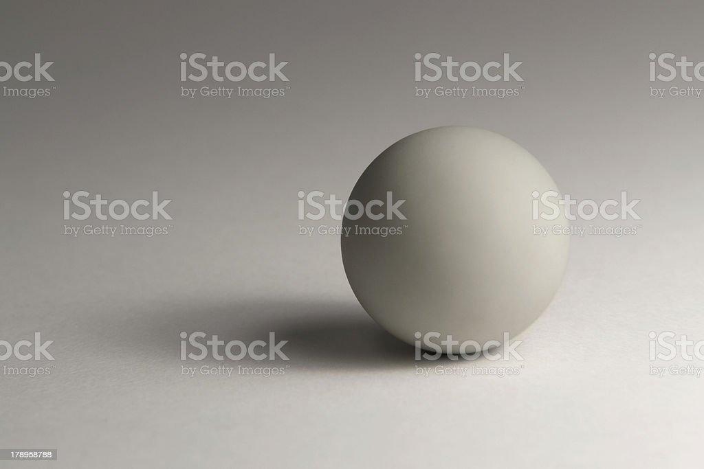 grey ball royalty-free stock photo