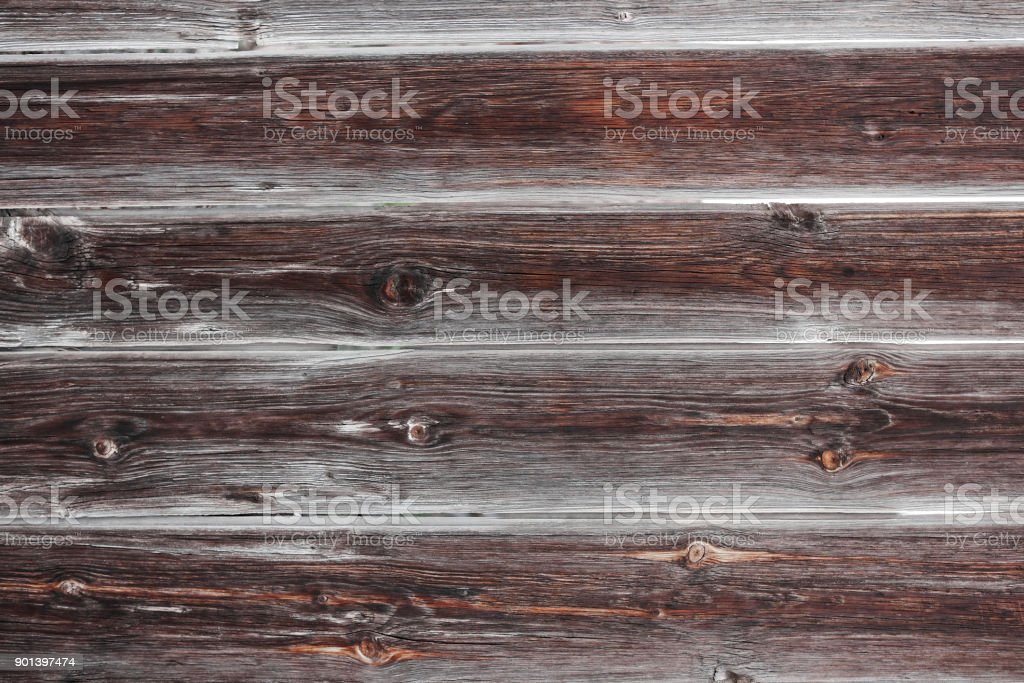 Grey Barn Wooden Wall Planking Wide Texture. Old Solid Wood Slats Rustic Shabby Gray Background. Dark Hardwood Weathered Square Surface. Grungy Faded Timber Wood Structure. Abstract Web Banner stock photo