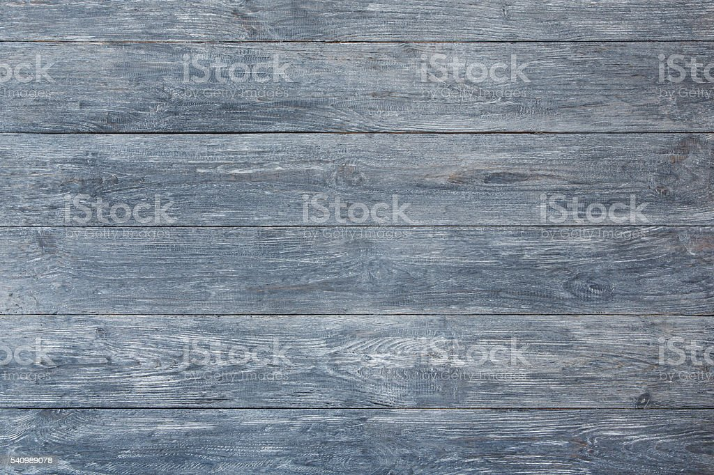 Grey blue wood texture and background. stock photo