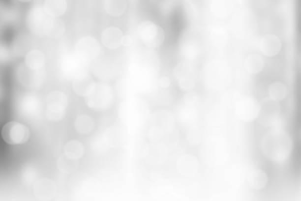 Grey Bokeh Background stock photo