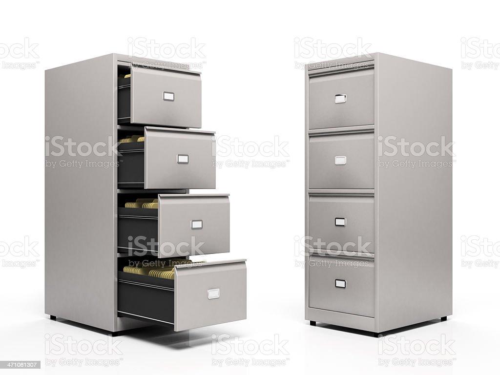 Graue Karte Dateien, isoliert auf weißem Hintergrund – Foto