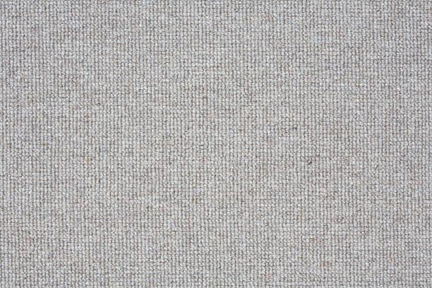 Grey carpet closeup stock photo