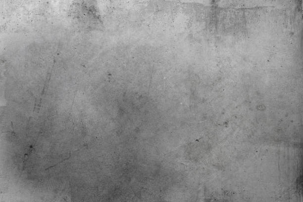 Grey concrete wall stock photo