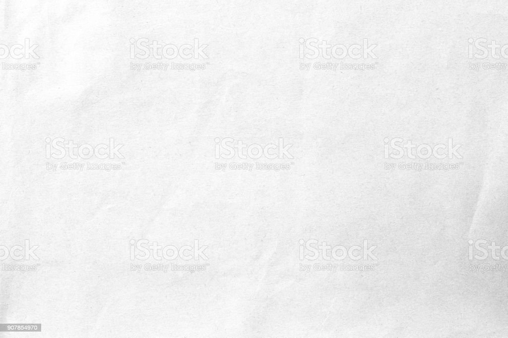 Grey crumpled  paper texture stock photo