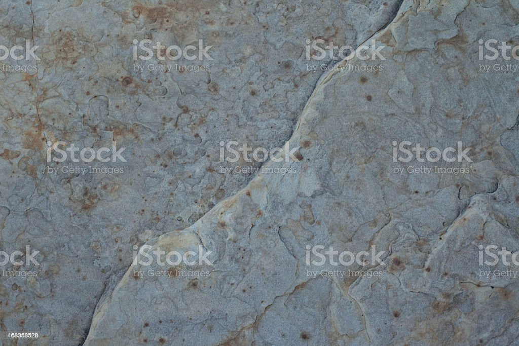 Grey desert rock wall royalty-free stock photo