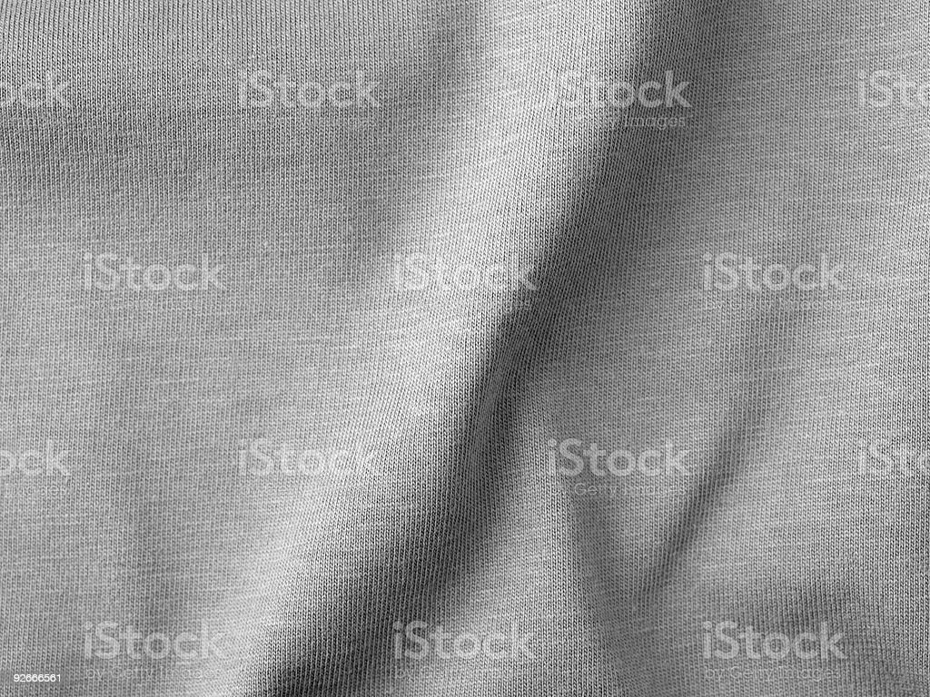 Grey Fabric Background Detail stock photo