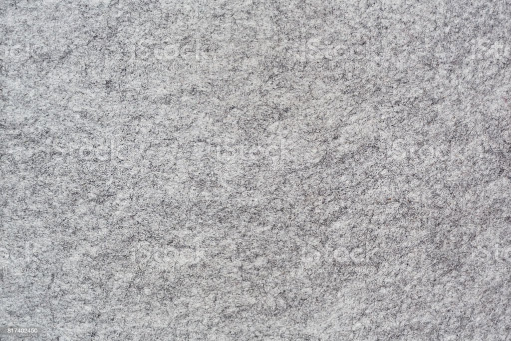Grey felt textured backgorund stock photo
