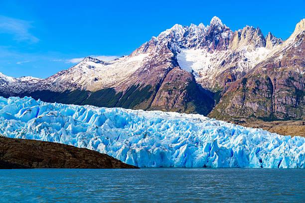 Grey Glacier at the Grey Lake – Foto