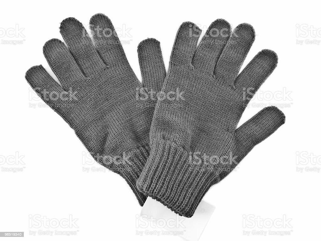 Szary rękawice zbiór zdjęć royalty-free