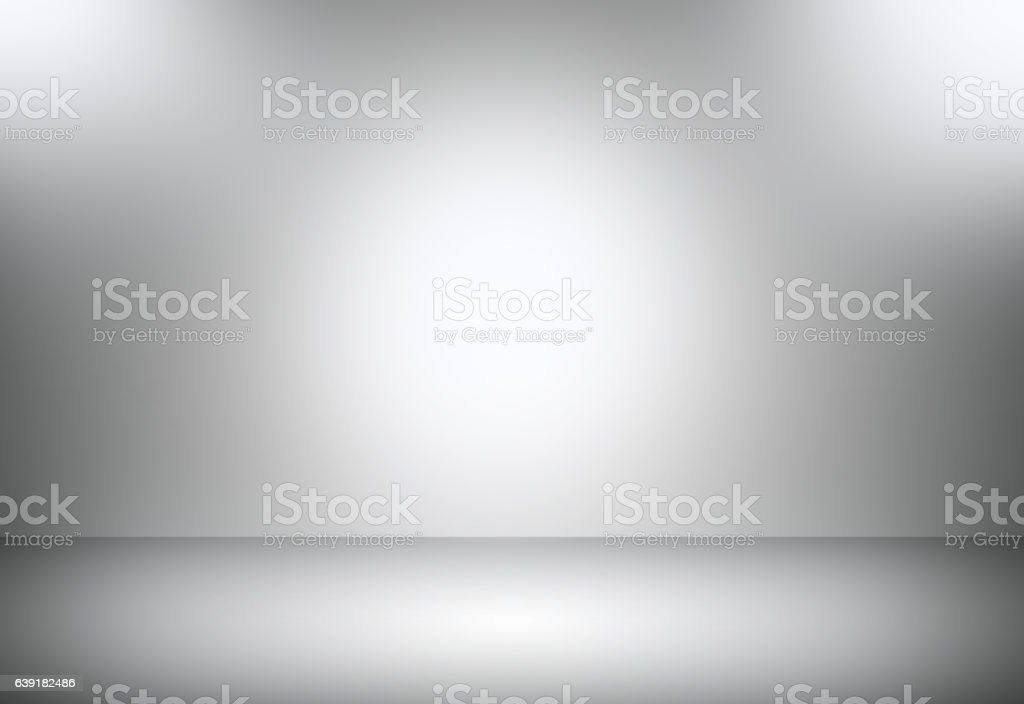Grey gradient abstract background / gray room studio background. stock photo