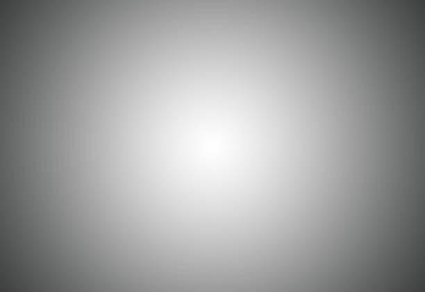 grey gradient abstract background / gray room studio background. - collina foto e immagini stock
