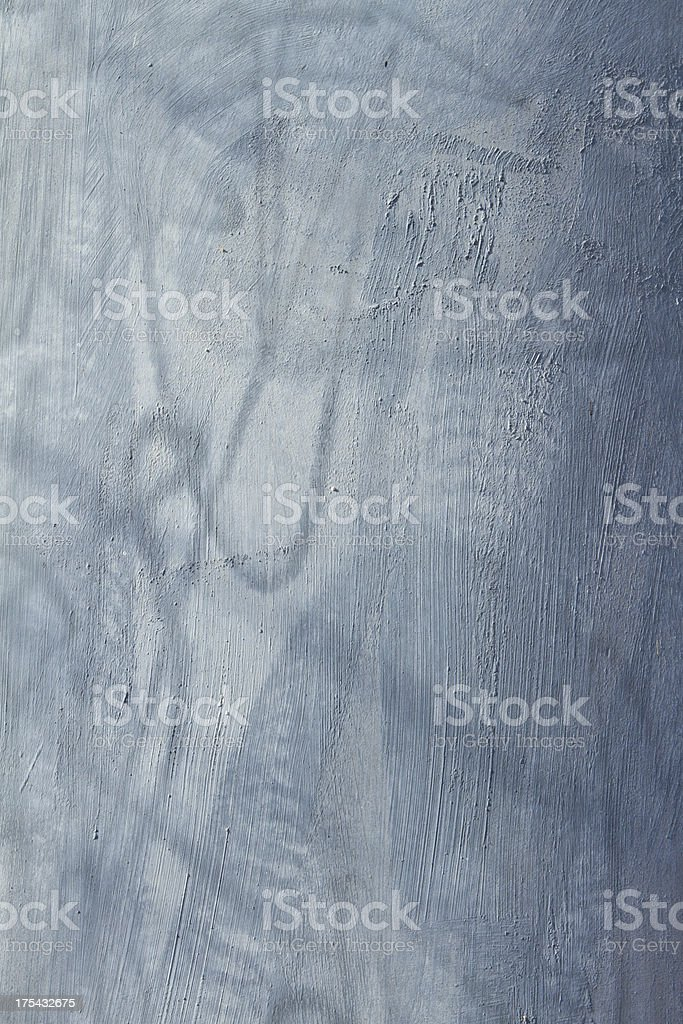 Grey grunge painted background with erosion stains and leaks royalty-free stock photo