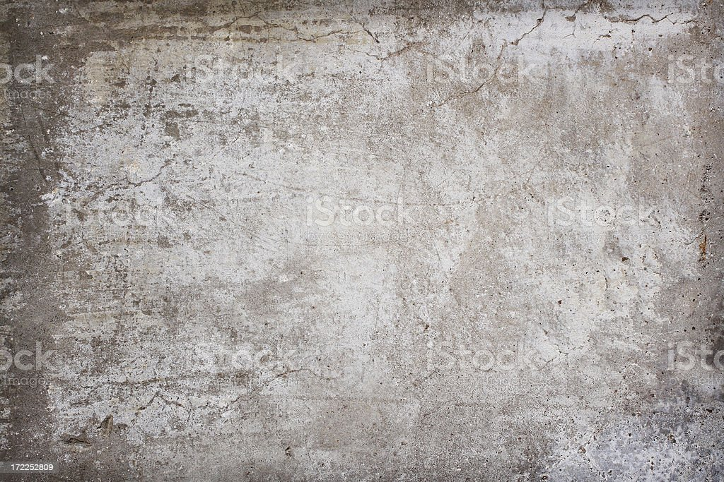 Grey grunge Roman wall texture royalty-free stock photo