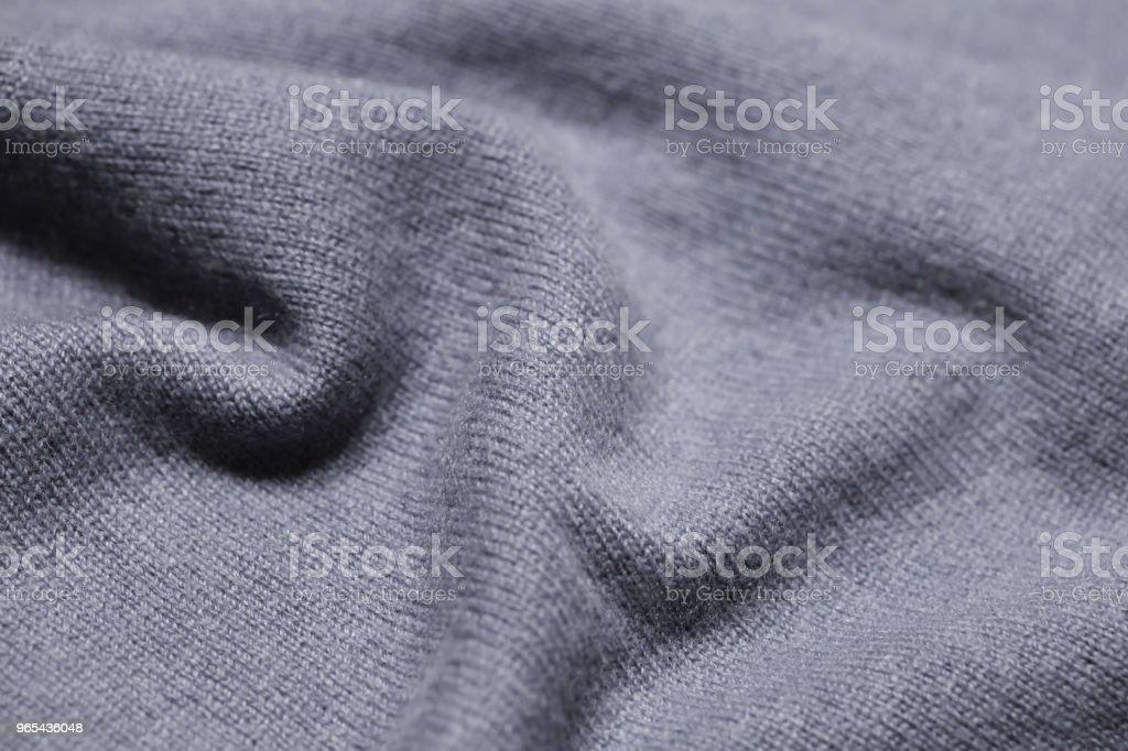 graue gestrickte wollene Hintergrund - Lizenzfrei Angorawolle Stock-Foto