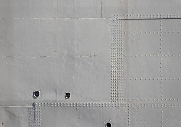 grey military rivets - hull stock pictures, royalty-free photos & images