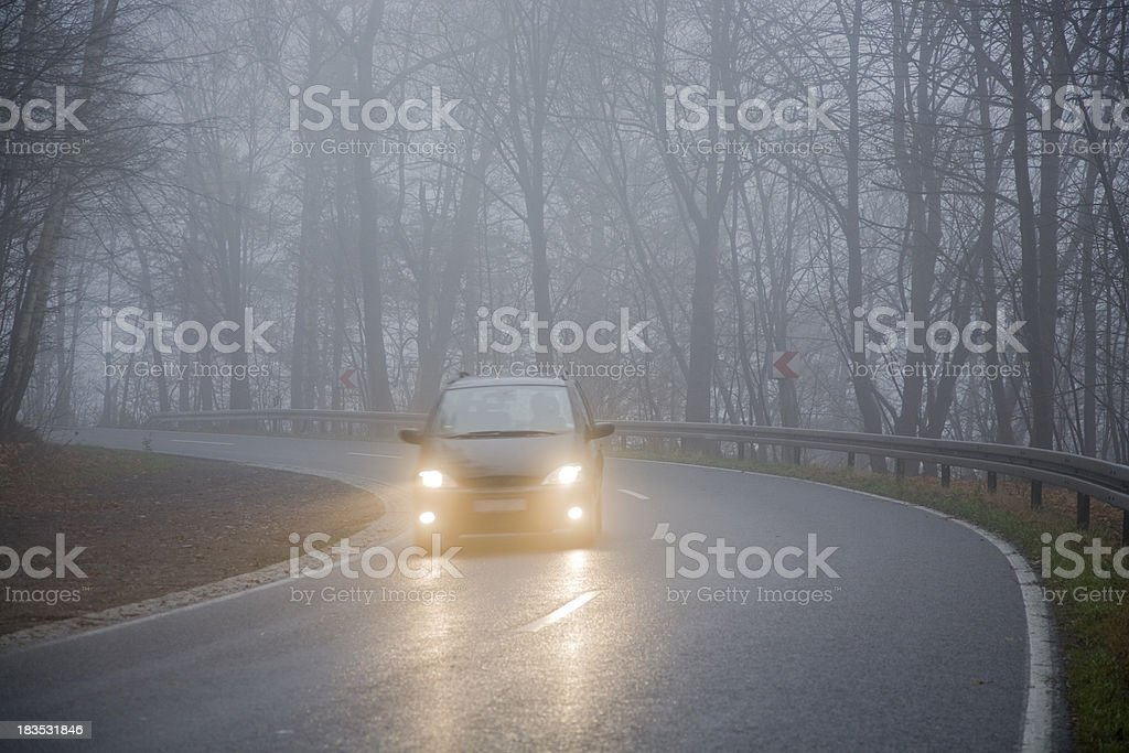Grey November stock photo