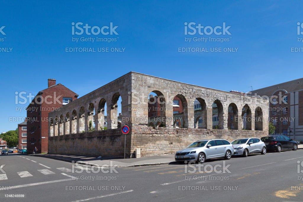 Grey Nuns Square in Amiens - Royalty-free Amiens Stock Photo