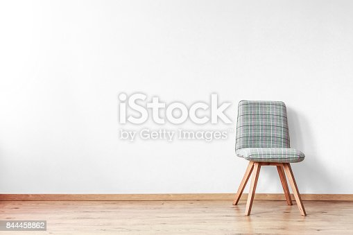1213866189 istock photo Grey patterned chair 844458862