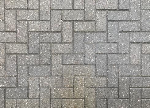 Grey pavement texture