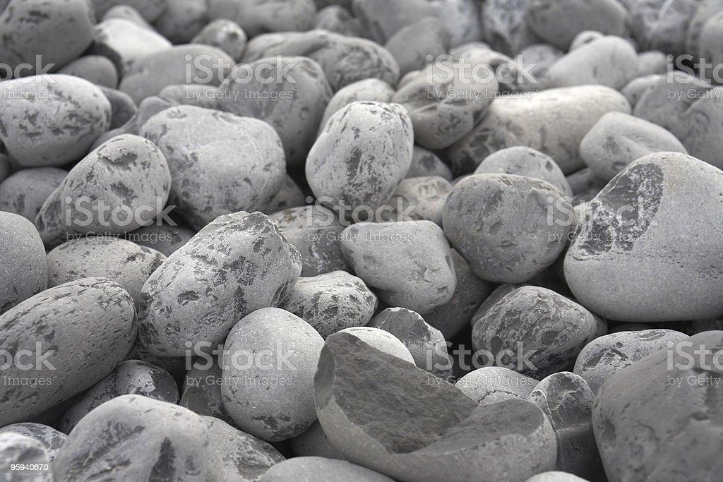 grey pebbles background royalty-free stock photo
