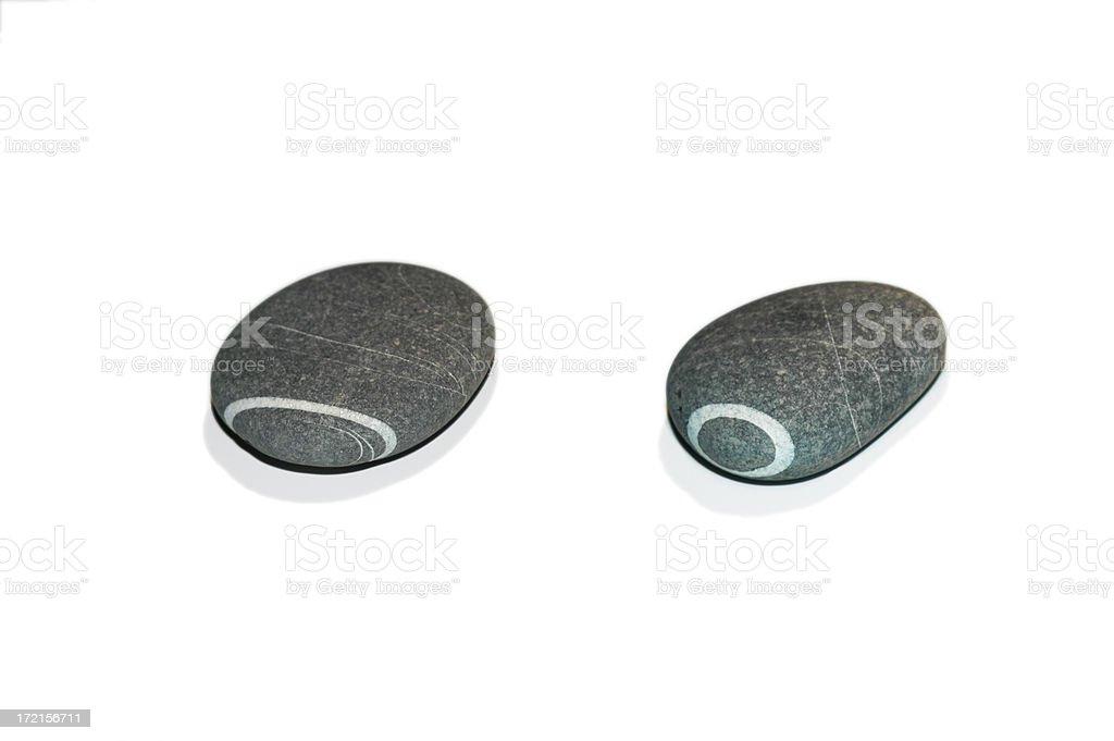 grey pebbles royalty-free stock photo