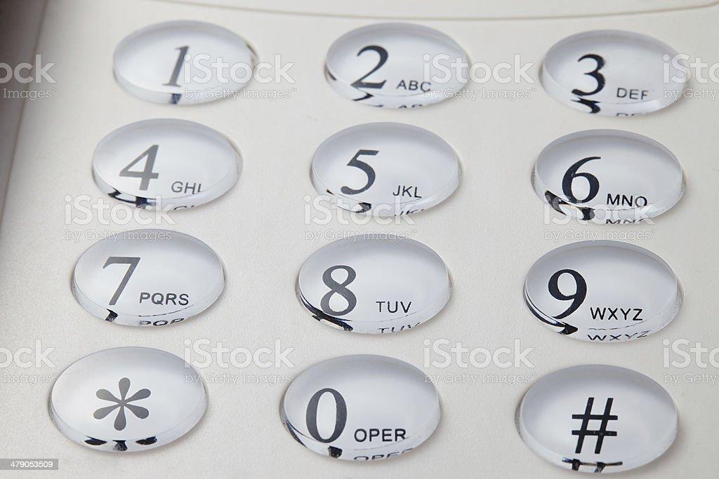 grey phone keypad stock photo