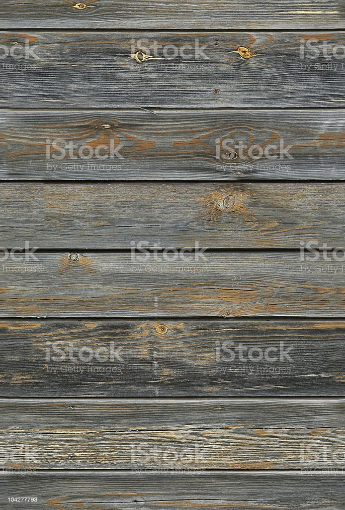 Grey planks of wood with seamless wood texture royalty-free stock photo