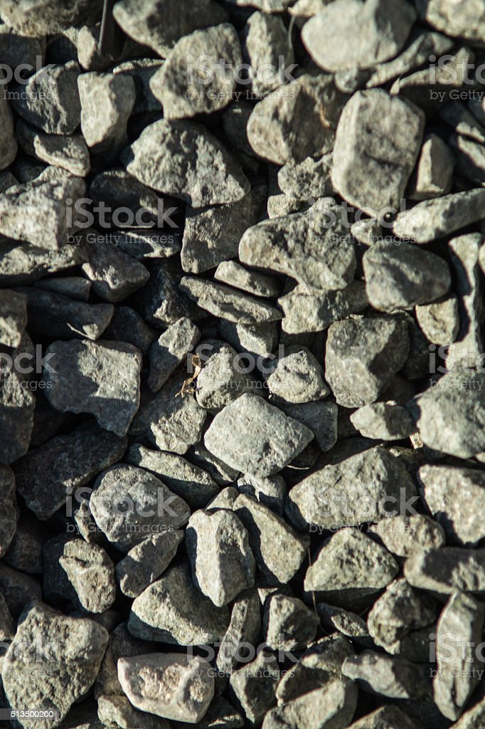grey rocks outside royalty-free stock photo
