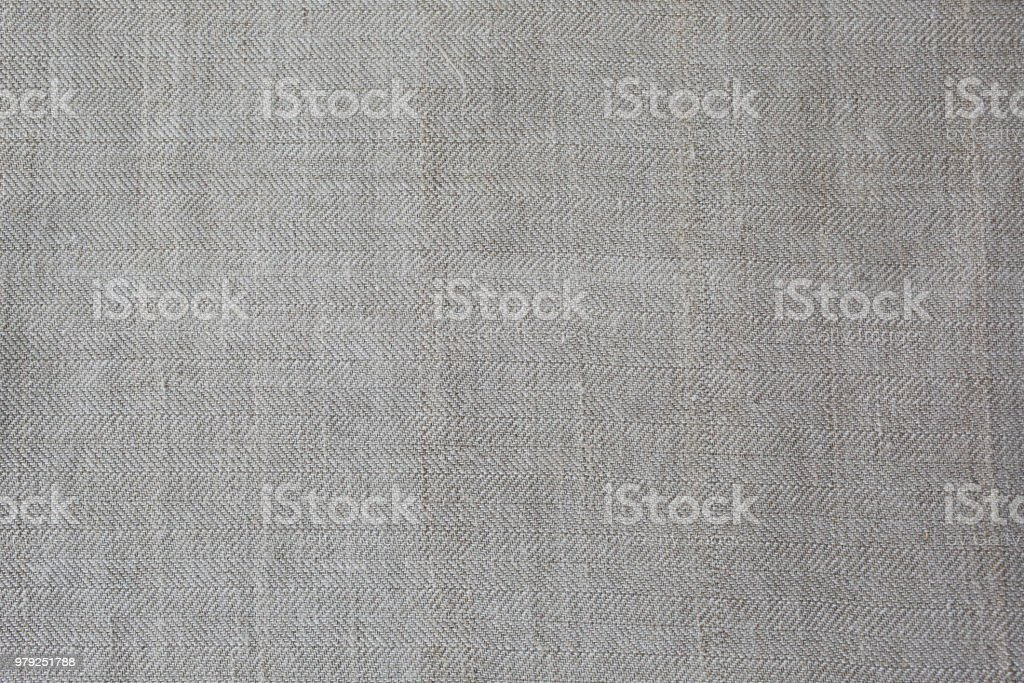 Grey Rustic Textile Linen Background Fabrics Texture Ecological Modern Cloth Royalty Free