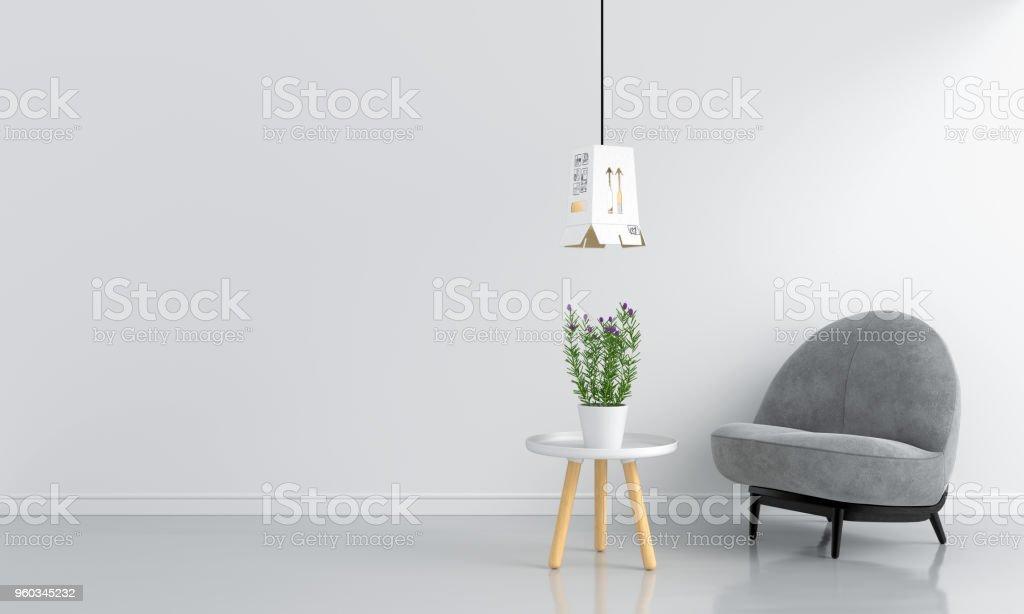 Boden, Büro, Hausmodell, Kreis, Modell. Grauen Sofa In Weiß Wohnzimmer ...