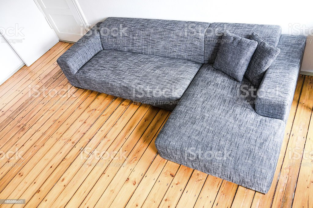 grey sofa royalty-free stock photo
