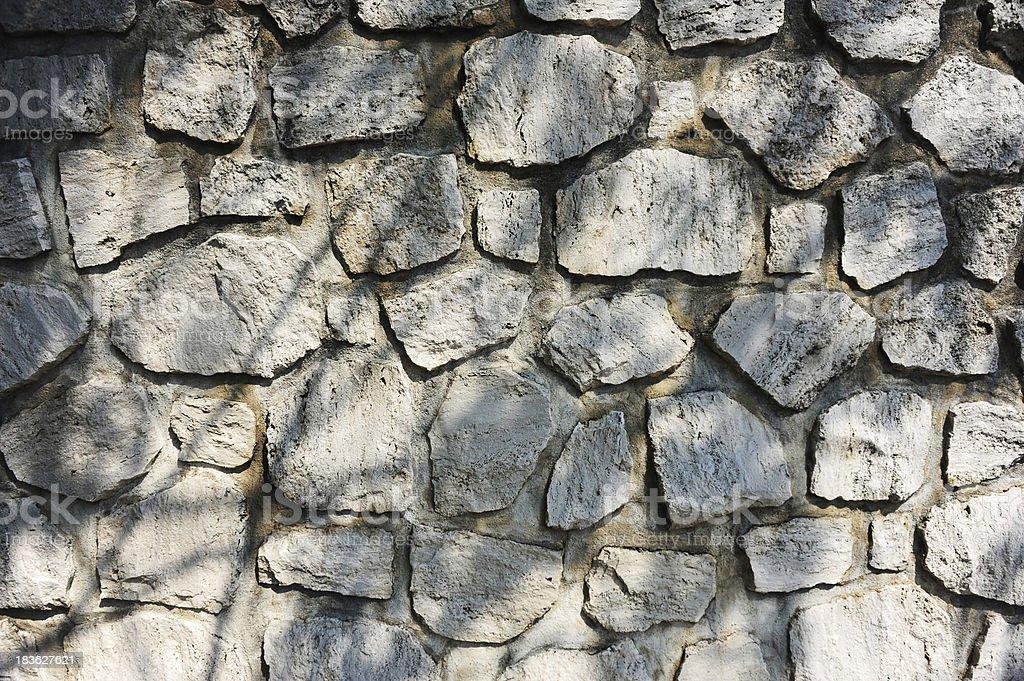 Grey Stone Block Texture royalty-free stock photo