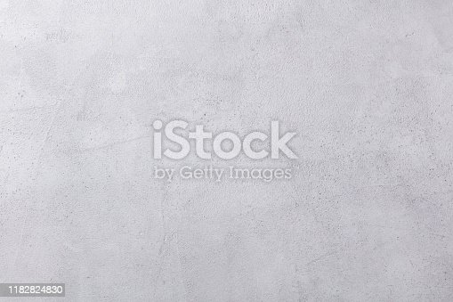 Grey stone, concrete background. Top view. Copy space