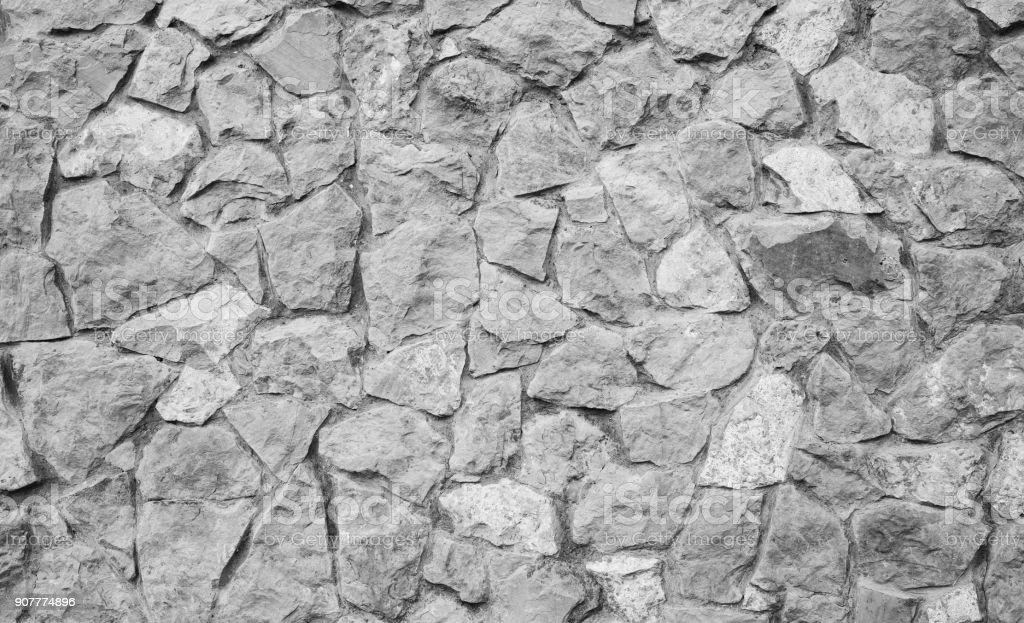 Grey stone texture, road. stock photo