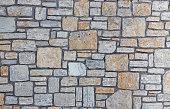 Grey stones texture