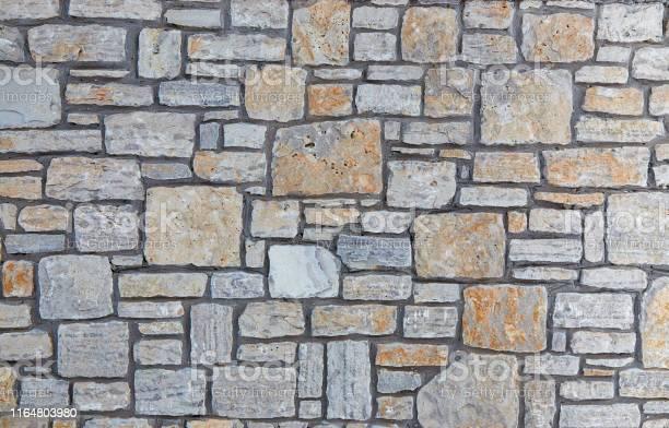 Photo of Grey stones texture