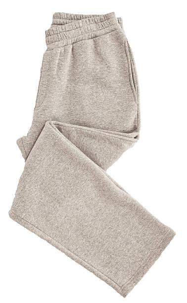 grau sweathosen - sweatpants stock-fotos und bilder
