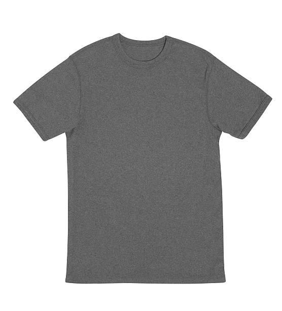 Graues t-Shirt mit clipping path – Foto