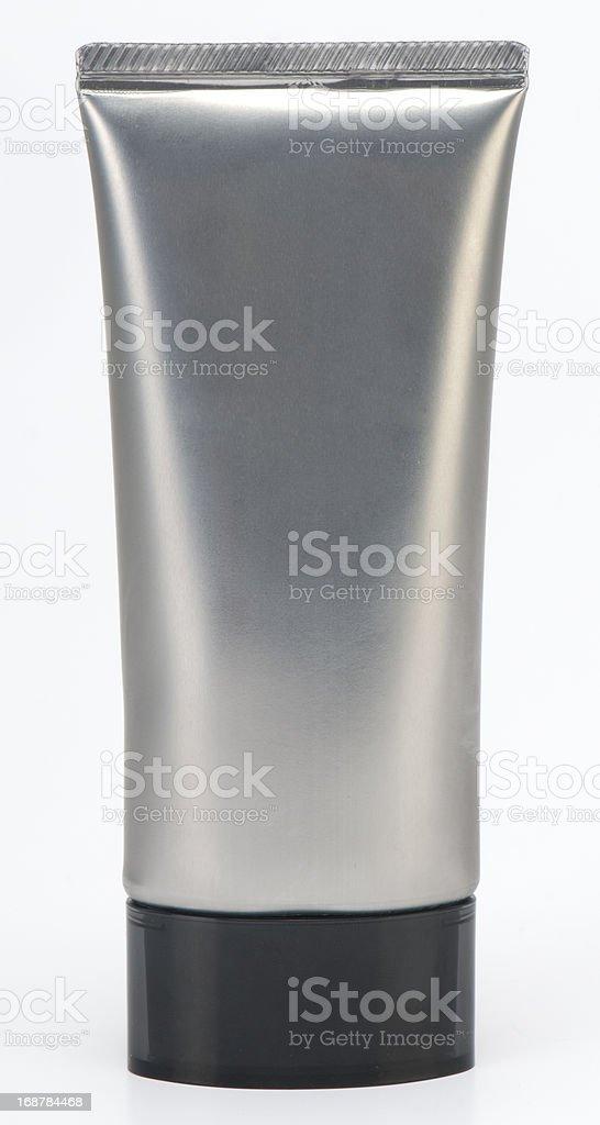 grey tube stock photo