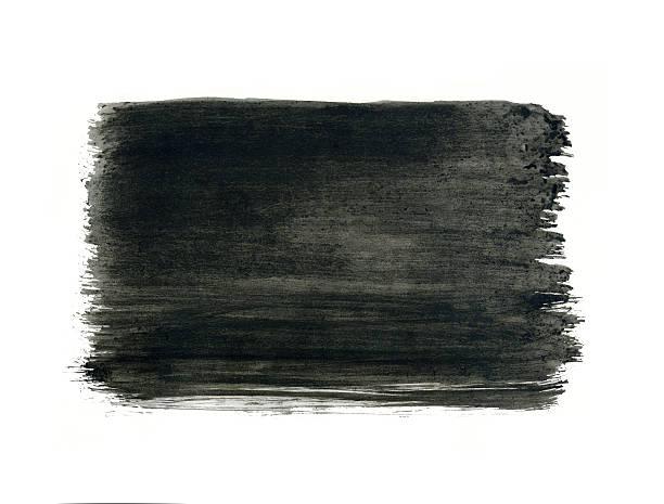 grau aquarell frame, schwarze, rechteckige auf weißem hintergrund. - grauflecken stock-fotos und bilder