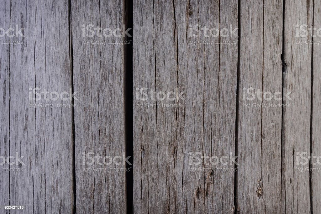 Grey wooden texture for background usage. stock photo