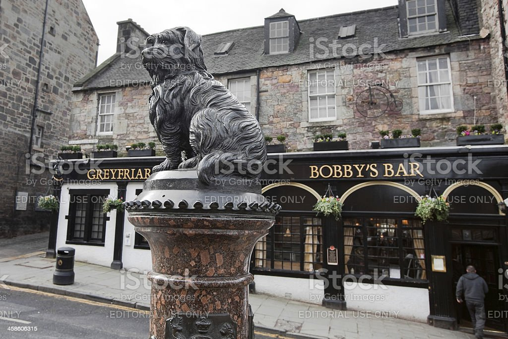 Greyfriars Bobby stock photo