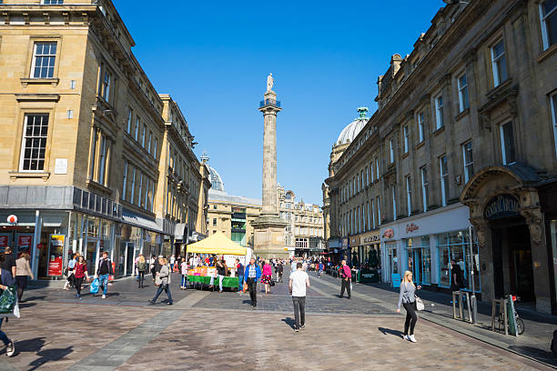 Grey's Monument stock photo
