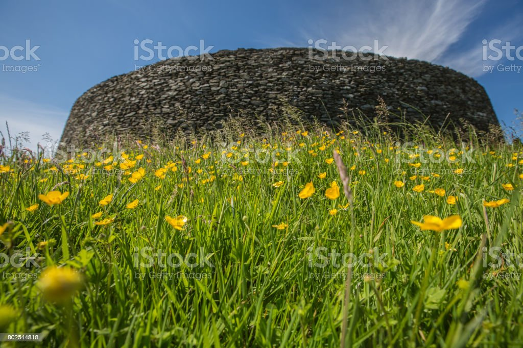 Grianan of Aileach, County Donegal stock photo