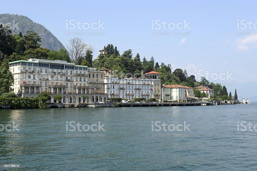 Griante on Lake Como stock photo