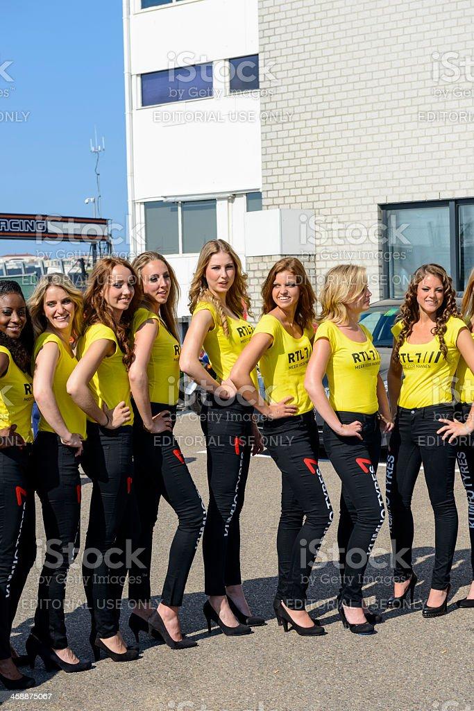 Grid filles - Photo