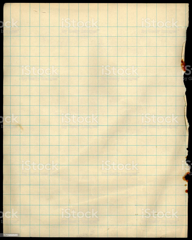 grid paper royalty-free stock photo